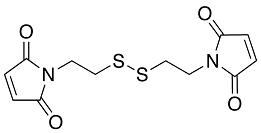 DTME Crosslinker crosslinker (dithiobismaleimidoethane; Dithio-bis-maleimidoethane), DTME crosslinking image, CAS # 71865-37-7